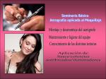 Semanario Básico Aerografía aplicada al Maquillaje